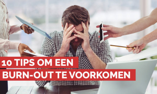 10 tips om een burn-out te voorkomen